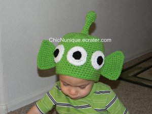 ��� Toy Story Alien Custom Crochet Hat *Any Size Available* ���
