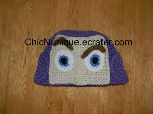 ��� Toy Story Buzz Lightyear Custom Adult Crochet Hat  ���