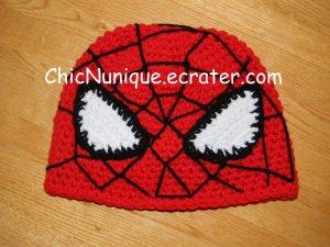 ��� Spiderman!!  Custom Crochet Hat *Any Size Available* ���