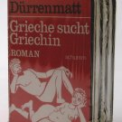 Greek Man Seeks Greek Woman - By Friedrich Dürrenmatt - New German-Language Audiobook of Novel