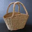 Seagrass Basket - Use For Picnics, Decoration, or Storage