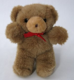 Vintage Teddy Bear By Embrace - Classic Plush Toy