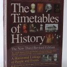The Timetables of History: A Horizontal Linkage of People and Events - By Bernard Grun