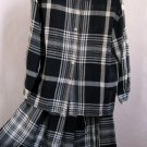Jones New York Two-Piece Dress - Women's Separates in Classic Navy and White Plaid