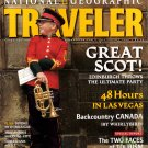 National Geographic Traveler - July August 1999 - Edinburgh, Las Vegas, Canada, Vienna, Aspen
