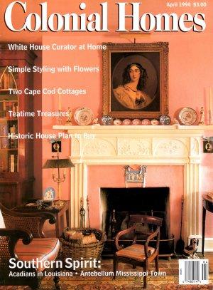 Colonial homes magazine april 1994 vol 20 no 2 for Colonial homes magazine house plans