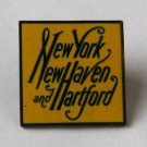 Vintage New York New Haven & Hartford Railroad Pin - With Iconic Script Logo - Collectable