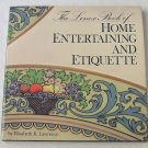 Lenox Book of Home Entertaining and Etiquette - By Elizabeth K. Lawrence