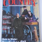 Country Magazine - March 1989 - High-Quality Magazine Celebrating Country Lifestyle - In German