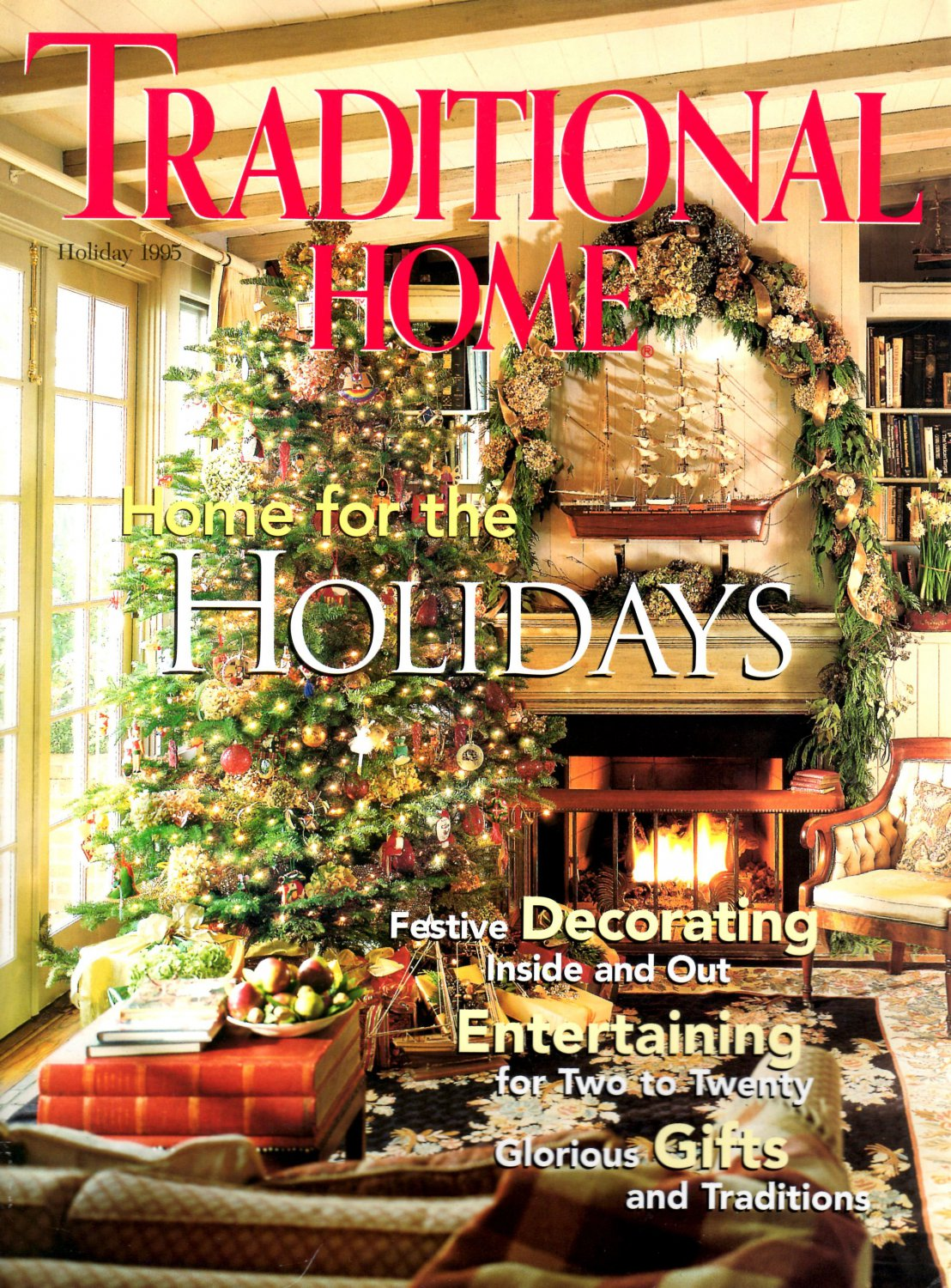 Traditional Home Magazine Holiday 1995 Back Issue