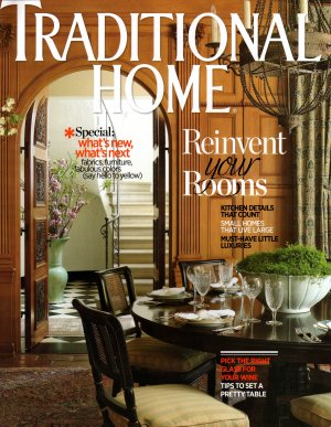 traditional home magazine september 2011 back issue