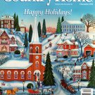 Country Home Magazine - December 1993 Back Issue - Volume 15, Issue 6