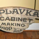Antique American Folk Art Trade Sign for Cabinet Making Shop