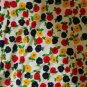 Vintage STELLA SLOAT Long Flower Floral skirt M