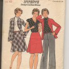 1970s Seventeen Design Contest Winner Butterick 3834 size 10