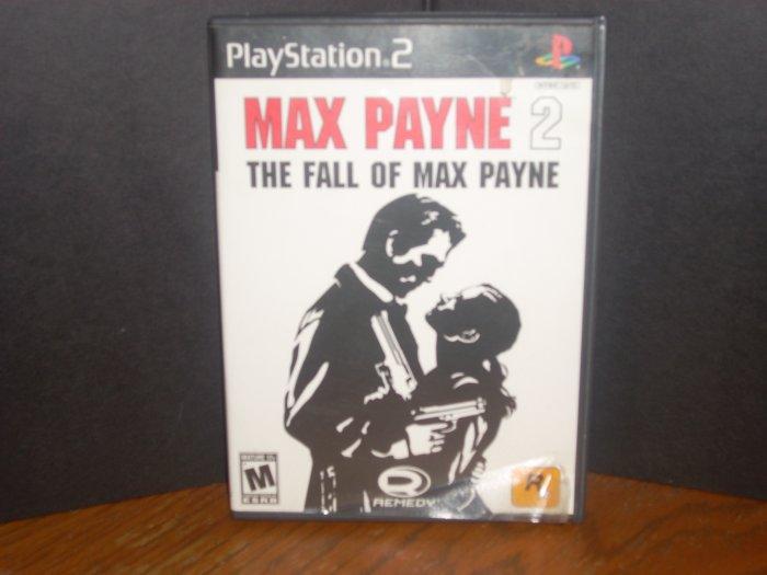 PS2: Max Payne 2:  The Fall of Max Payne(USED)