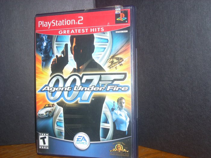 PS2: James Bond - 007 Agent Under Fire(USED) OUT OF STOCK