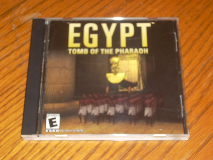 PC: Egypt Tomb of the Pharaoh *USED*