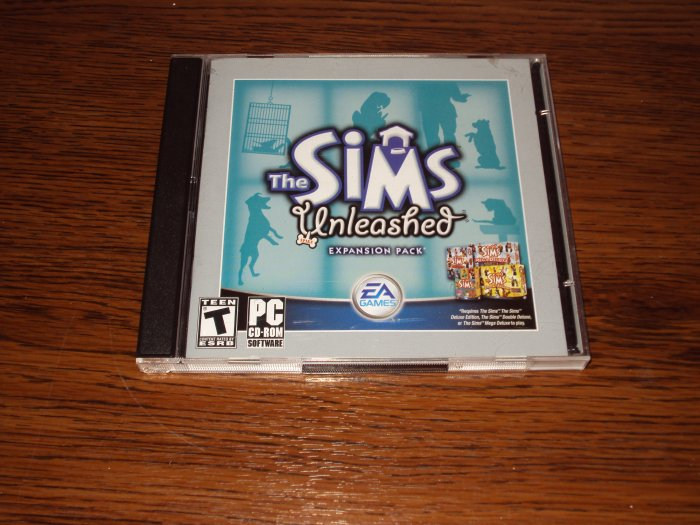 PC The Sims Unleashed EXPANSION PACK *USED*