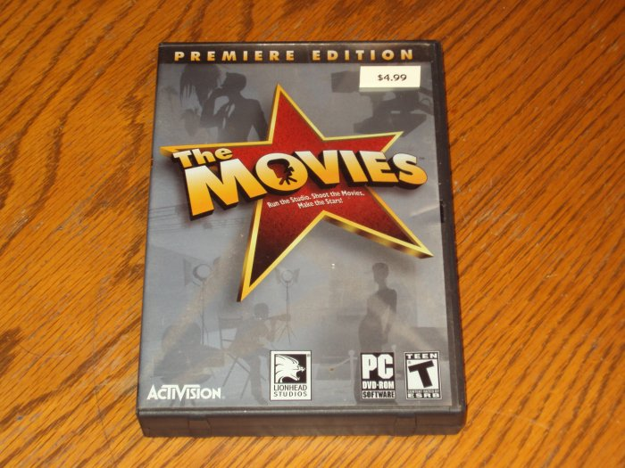 PC: The Movies Premire Edition *USED*