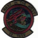 USAF 23D TACTICAL AIR SUPPORT SQUADRON PATCH WAR COMBAT FIGHTER JET PILOT