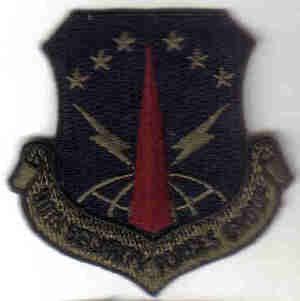 USAF 90TH SECURITY FORCES GROUP PATCH MILITARY SOLDIERS Francis E. Warren AFB, Wyoming