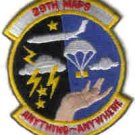 USAF PATCHES 29TH MAPS MOBILE AERIAL PORT SQ AIRLIFT AIRCRAFT Selfridge ANGB, Michigan