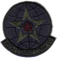 283D COMBAT COMMUNICATIONS SQUADRON USAF MILITARY PATCH Savannah International Airport, Georgia