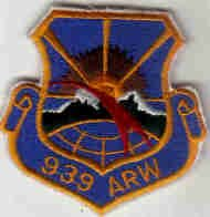 939 ARW AIR REFUELING WING USAF PATCH AIRPLANE PILOT CREW Portland International Airport, Oregon