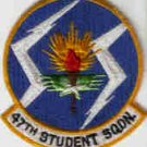47TH STUDENT SQUADRON USAF PATCHES Laughlin AFB, Texas FIGHTER JET PILOT CREW