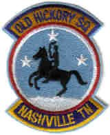 105th AIRLIFT OLD HICKORY SQ NASHVILLE Metropolitan Airport, Tennessee USAF PATCH AIRPLANE PILOT