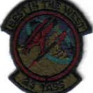 23 TACTICAL AIR SUPPORT SQUADRON USAF PATCH Davis-Monthan AFB, Arizona FIGHTERJET PILOT CREW