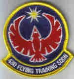 43D FLYING TRAINING SQUADRON Columbus AFB, Mississippi USAF PATCH FIGHTER JET PILOT CREW