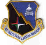 AIR FORCE NATIONAL CAPITAL REGION USAF PATCH Bolling AFB, District of Columbia