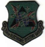 $4 USAF MILITARY INSIGNIA PATCH 754TH ELECTRONIC SYSTEMS GROUP SUBDUED Maxwell AFB, Alabama