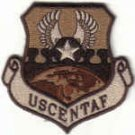 USCENTAF Shaw AFB, South Carolina USAF COMMAND DESERT PATCH $4 INSIGNIA WAR AIRCRAFT