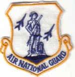 AIR NATIONAL GUARD Washington, District of Columbia USAF INSIGNIA PATCH  WAR AIRCRAFT PILOT CREW