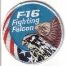 F-16 FIGHTING FALCON USA SWIRL PATCH $5 WAR AIRCRAFT FIGHTER JET PILOT