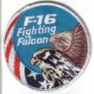 F-16 FIGHTING FALCON USA SWIRL PATCH $5 WAR AIRCRAFT FIGHTER JET PILOT