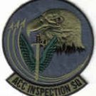 USAF PATCH ACC INSPECTION SQUADRON LANGLEY AFB VIRGINIA AIR COMBAT COMMAND