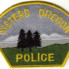 SISTERS OREGON POLICE DEPARTMENT UNIFORM PATCH USA COPS CSI LAW MAN