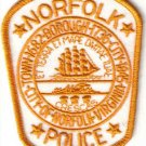 NORFOLK VIRGINIA POLICE DEPT UNIFORM PATCH LAW OFFICER COPS CSI USA