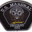 U.S.MARSHAL CHICAGO SRT POLICE PATCH ILLINIOS COPS CSI LAWMAN