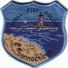 SHELL FISH POLICE CONNECTICUT PATCH BEACH OCEAN LIGHTHOUSE
