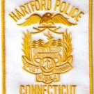 HARTFORD CONNECTICUT POLICE PATCH COPS CSI LAW OFFICER DRUGS CRIME