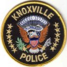 KNOXVILLE POLICE UNIFORM PATCH TENNESSEE COPS CSI LAW OFFICER FORT KNOX GOLD