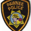 PAWNEE POLICE UNIFORM PATCH OKLAHOMA COPS CSI CRIME INVESTIGATOR DICK TRACY