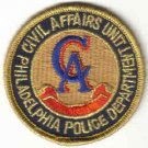 PHILADELPHIA POLICE CIVIL AFFAIRS UNIT UNIFORM PATCH COPS CSI GUNS PISTOL RIFLE LAWMAN