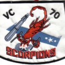 VC-70 SCORPIONS U.S.NAVY PATCH $5 INSIGNIA MILITARY EMBLEM WAR BOMBER AIRCRAFT