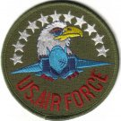 U.S.AIR FORCE MILITARY PATCH $5 EMBLEM WAR COMBAT AIRCRAFT PILOT